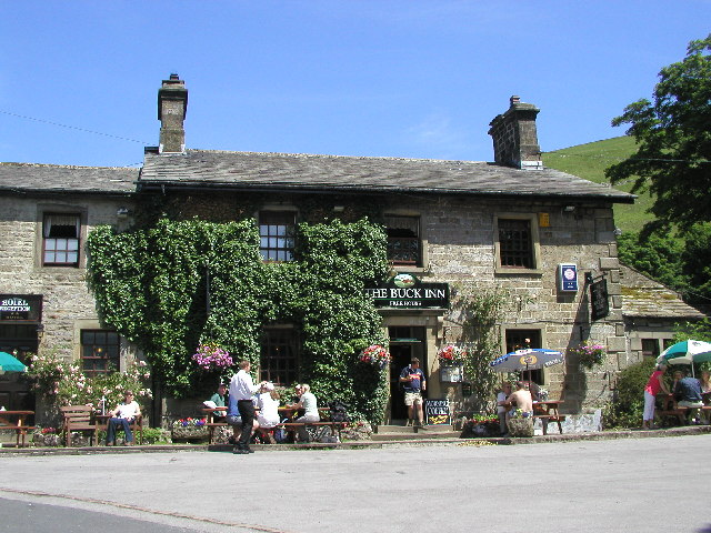 The pub at Buckden