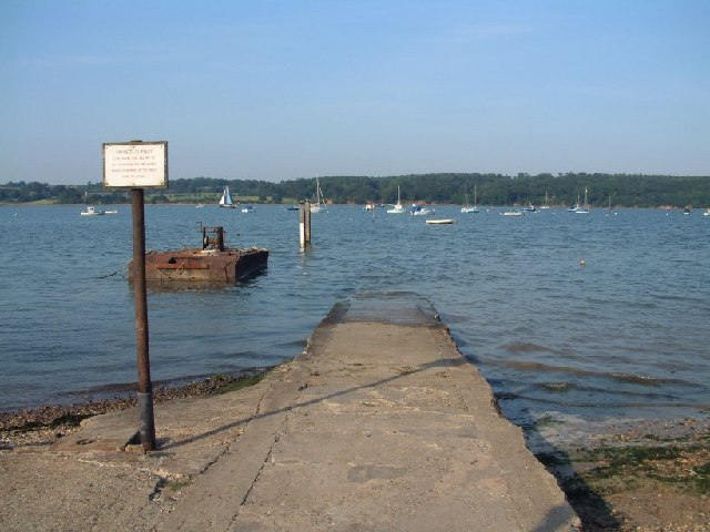 Freston Hard, River Orwell