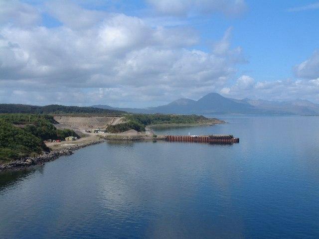 Pier at Bogha Beag, Skye