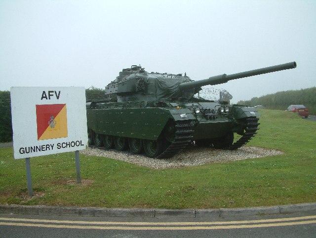 AFV Gunnery School