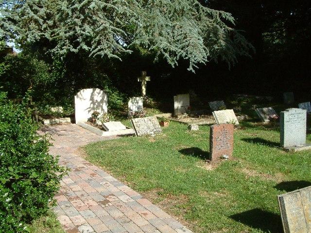T E Lawrence's grave