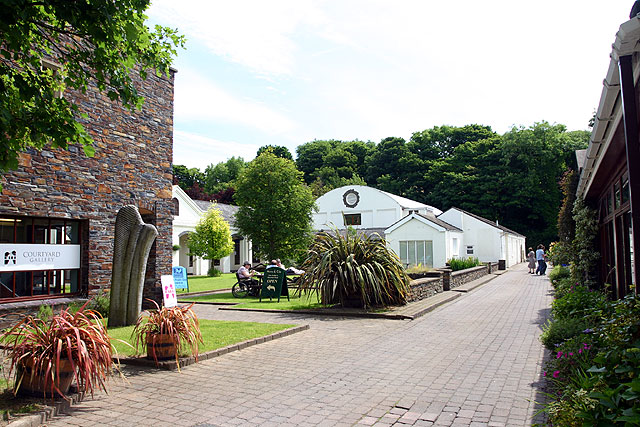 Tynwald Mills courtyard