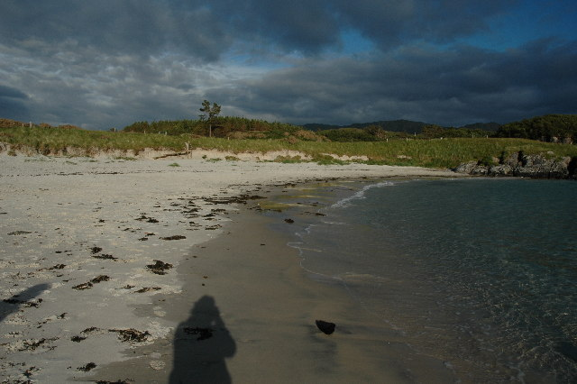 Beach near Morar and Arisaig