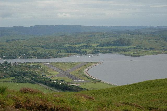 Connel Airfield, North Connel, Scotland