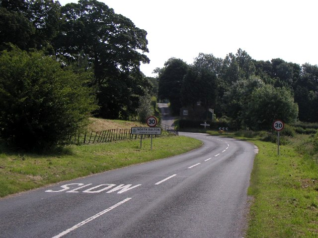 North Dalton from the west
