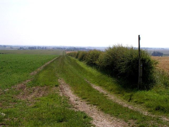 The bridleway to North Dalton
