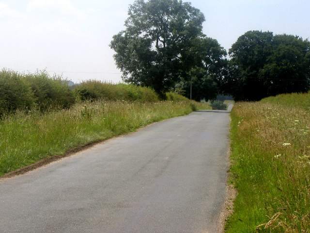 The Warter to Huggate road