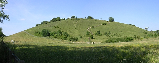 Southern aspect of St Catherine's Hill, Winchester