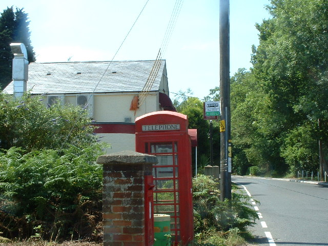 Telephone box at Parkgate