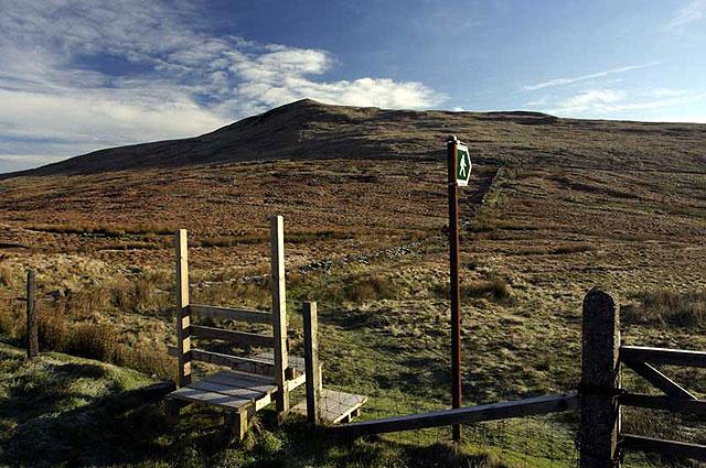 Clagh Ouyr from near Black Hut