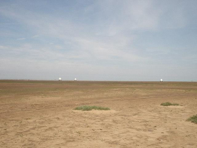 RAF Bombing Range at Donna Nook