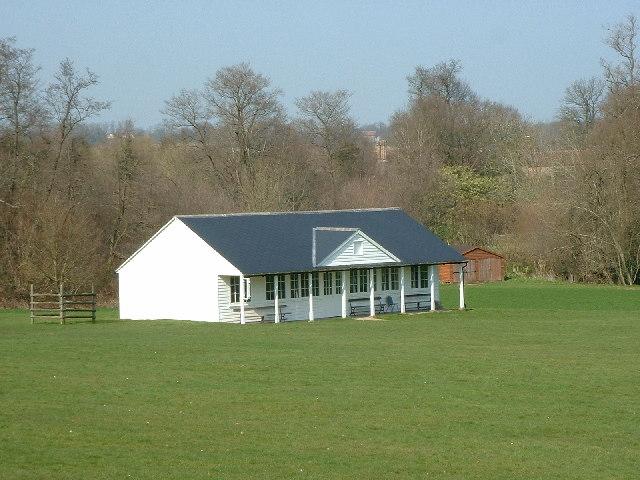 Cricket pavilion at Withyham