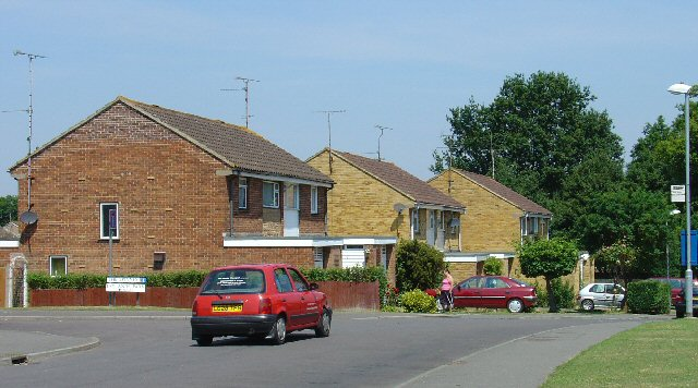 1980s Housing at Leylands Park, Burgess Hill