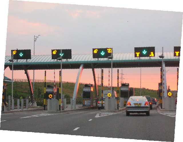 Midland Expressway Main Carriageway Toll Plaza Northbound