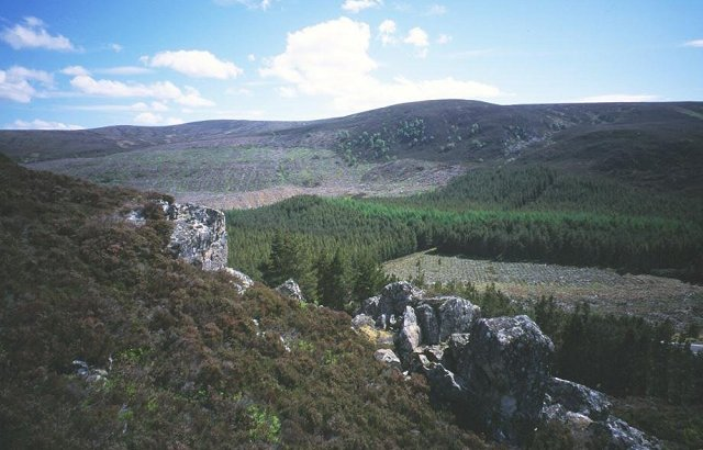 Pass south of Meall Mor,  Monadhliath