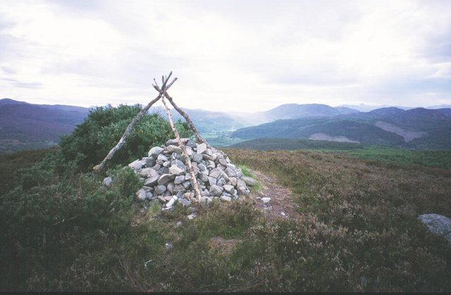 Summit of Torr Achilty