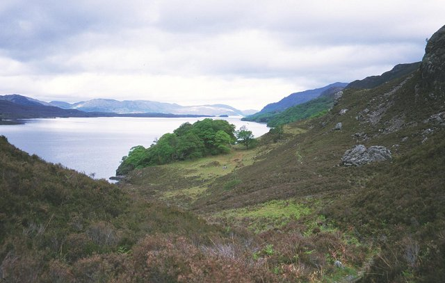 East shore of Loch Maree