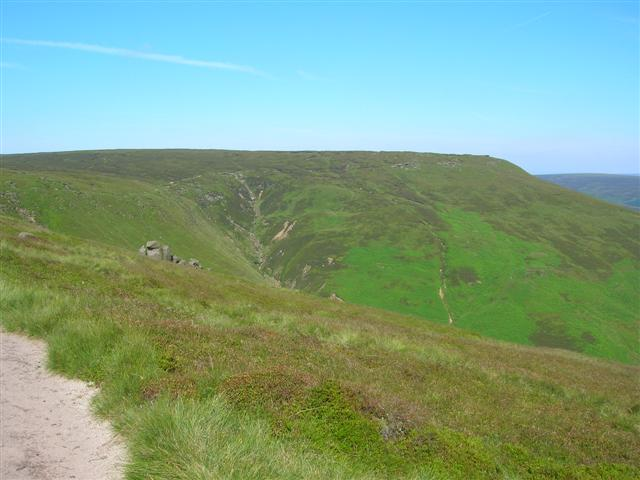 Valley, close to Blackden Moor.