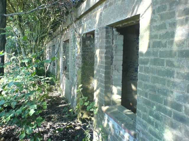 Derelict Airfield Building