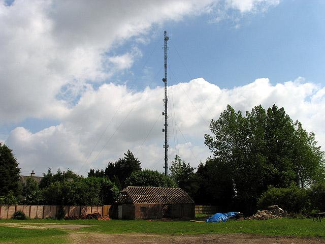 Radio Mast near Membury
