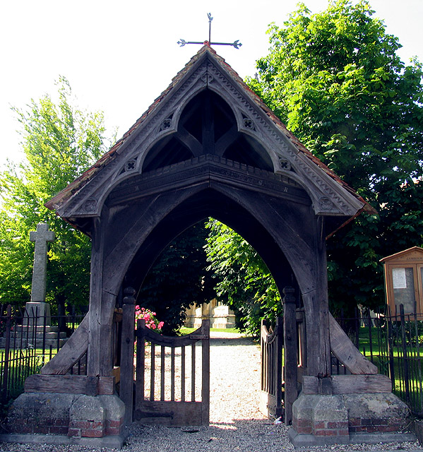 Lych Gate at St Michael and All Angel: Lambourn