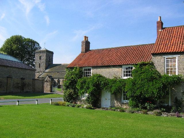Hovingham - Cottages & church
