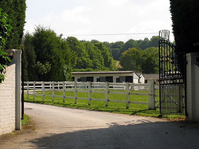 Stud Farm in the Valley of the Race Horse: Lambourn