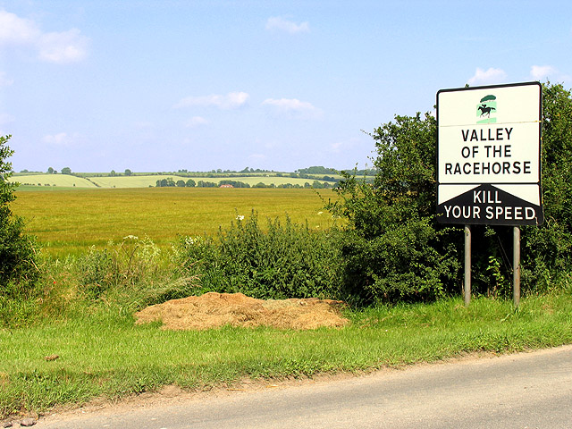 Valley of the Race Horse: Lambourn