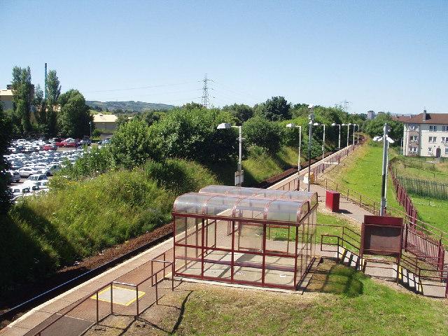 Hawkhead Station, Paisley