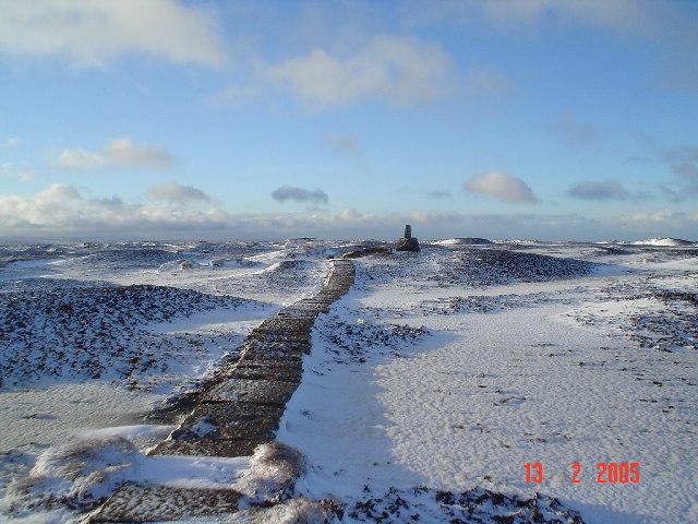 Black Hill summit