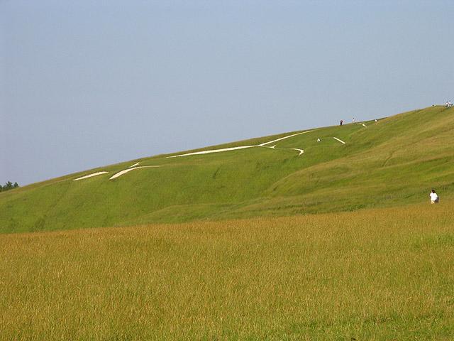 Uffington Horse: Whitehorse Hill