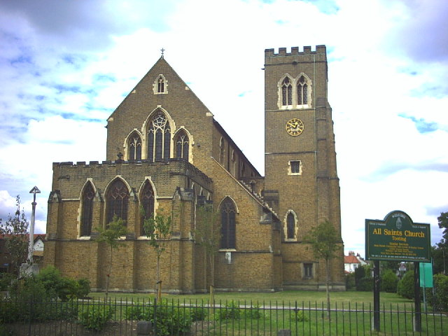 All Saints Church, Franciscan Road, Tooting