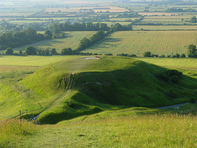 Dragon Hill near Uffington