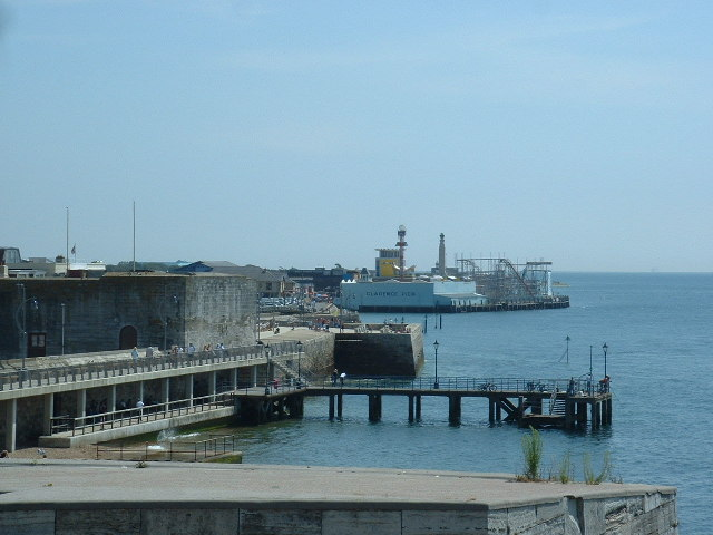 Old Portsmouth & Clarence Pier
