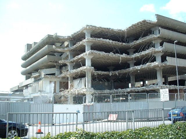 Tricorn Centre, Portsmouth - Demolition