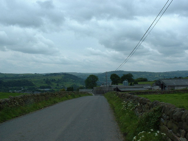 Whitelea Lane, looking South