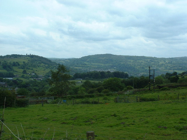 Farmland near Tansley
