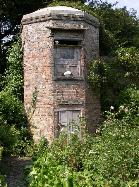 Dovecote and Rose Garden, Benthall Hall Grounds