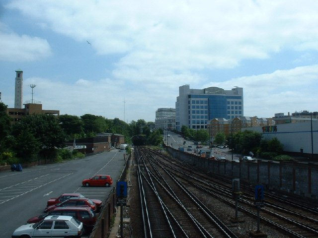 Southampton railway tunnel
