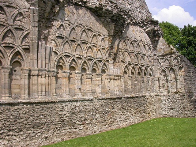 Chapter House, S. Milburga's Priory, Much Wenlock