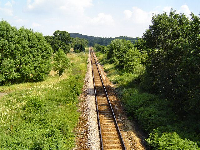Lapford railway line