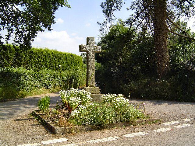 Four Lanes memorial - mid Devon