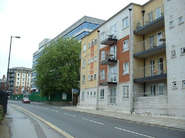 Flats, High Street, Southampton