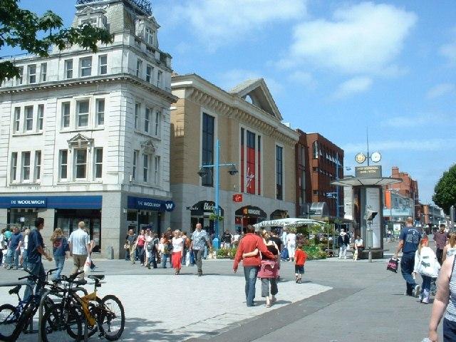 Above Bar Street, Southampton