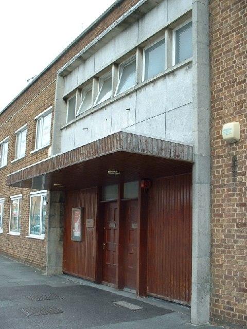 1950s entrance, Queensway