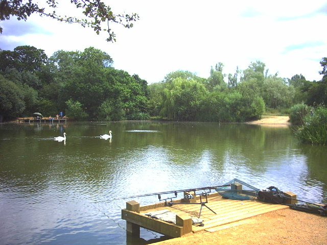 Fishing lake, Tooting Bec Common