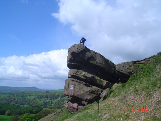 The Hanging Stone, White Peak.