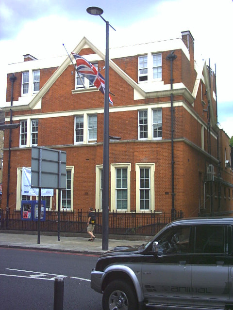 Streatham Police Station, Streatham High Road.