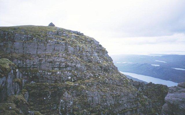 Summit of Beinn Dearg Mor