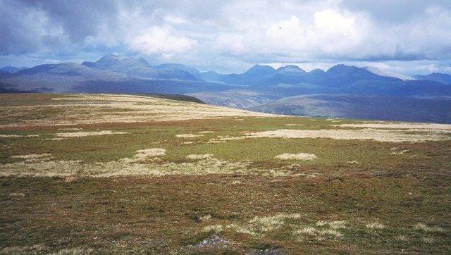 Plateau of Meall a' Chaoruinn